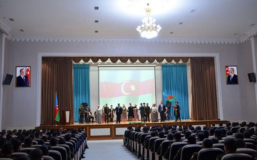 Gənclər Günü münasibətilə Azərbaycan Ordusunda silsilə tədbirlər keçirilib