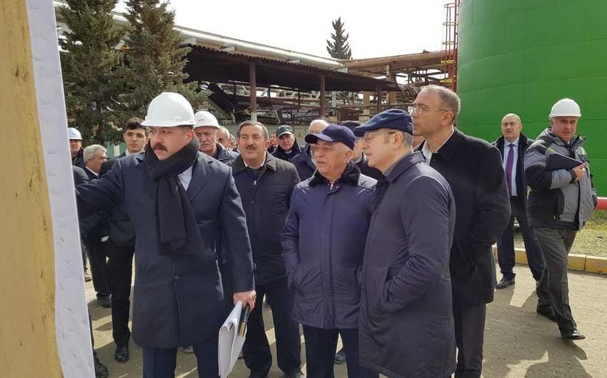 """Energetika naziri """"Azərbaycan"""" İES-ə baş çəkib"""