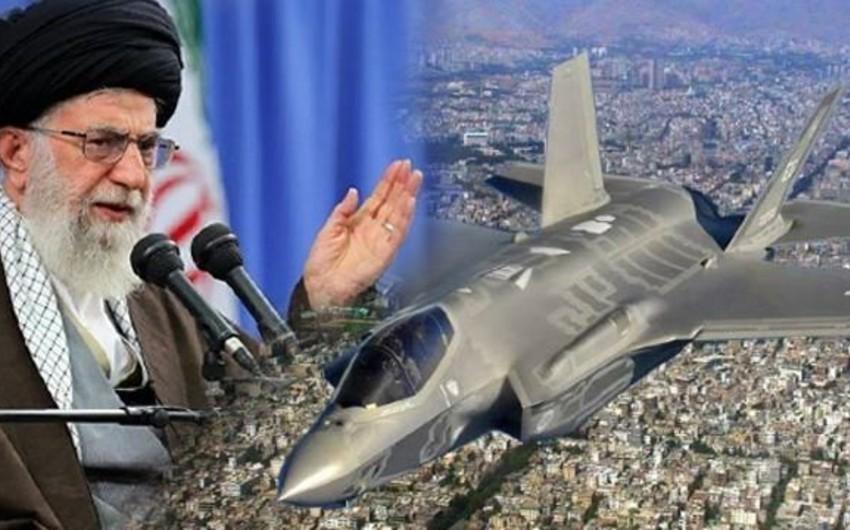 """İranın ali rəhbəri """"F-35""""in ölkənin sərhədini pozmasına görə komandanı işdən çıxarıb"""