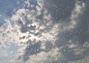 Rain predicted tomorrow in Baku