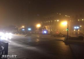 Автомобиль сбил женщину в Баку