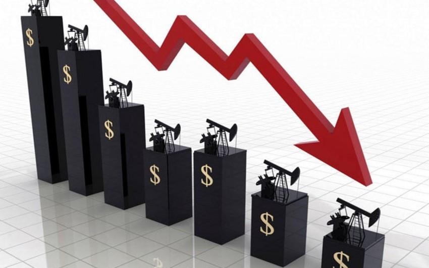 Azeri Light oil price drops