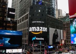 """""""Amazon""""un səhmləri 8 %-ə yaxın ucuzlaşıb"""