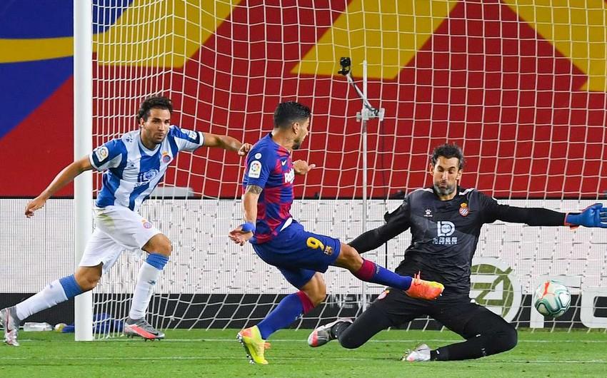 Barselona Espanyolu aşağı liqaya endirdi