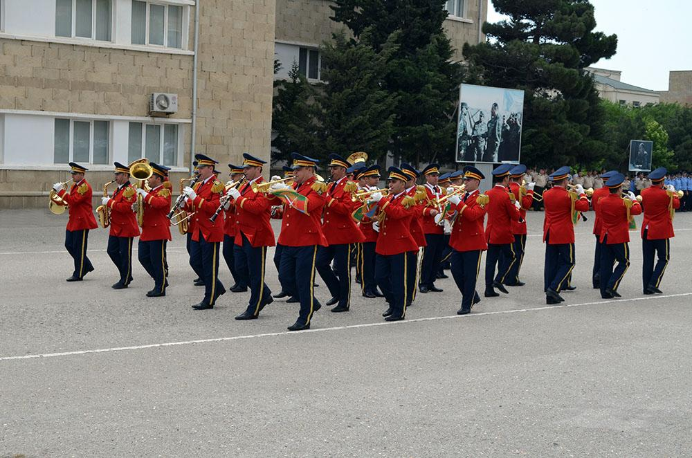 Great Britain's Military Band held musical performance in Baku