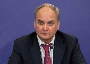 Российский посол Антонов вернется сегодня в США