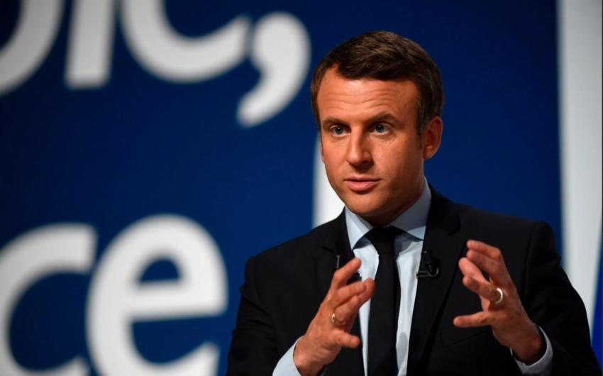 Makron Fransanın üzvü olduğu NATO-nu mövcud olmayan təşkilat adlandırıb