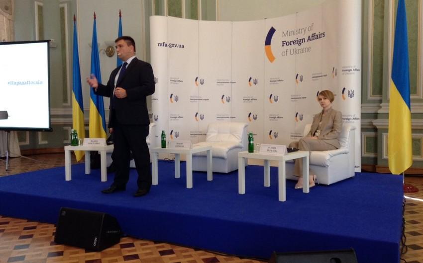 Ukraynanın Azərbaycandakı səfiri illik ambassadorialda iştirak edir