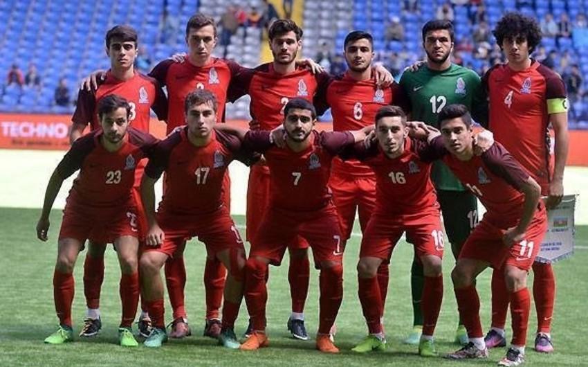 21 yaşadək futbolçulardan ibarət Azərbaycan millisi İsrail komandası ilə qarşılaşacaq