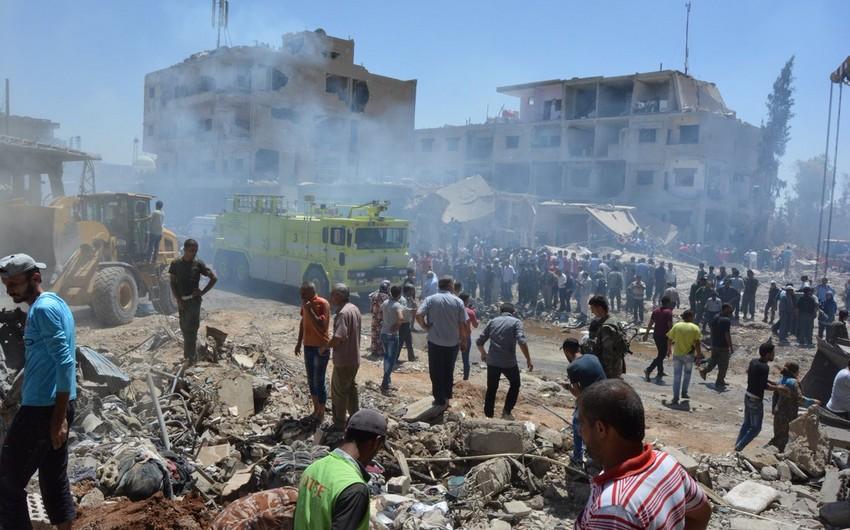 YPG Suriyada terror aktı törədib, ölənlər var