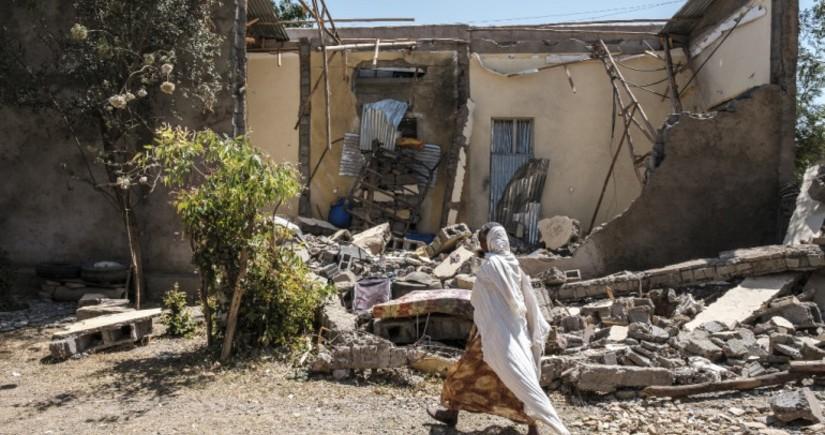 При авиаударе в Эфиопии погибли более 50 человек