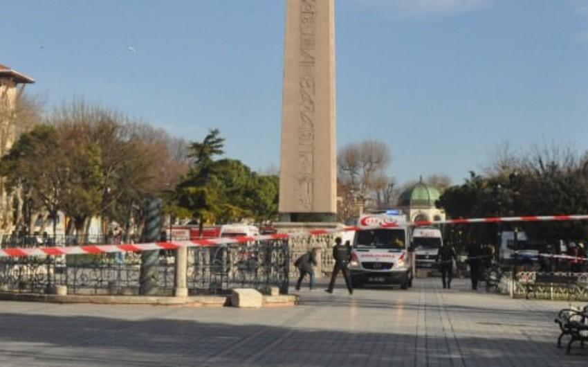 İstanbulda partlayışı terrorçu kamikadze törədib