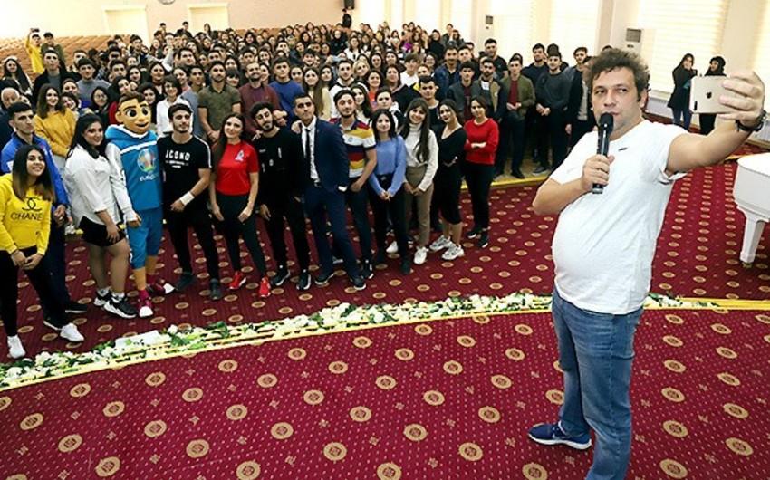 AVRO-2020: Slavyan Universitetinin tələbə və müəllim heyəti ilə görüş keçirilib