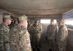 Zakir Həsənov Azərbaycan Ordusunun Laçındakı təlimini izləyib, tapşırıqlar verib