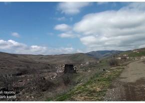 Разрушенное армянами село в Физулинском районе