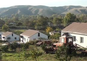Освобожденное от оккупации село Ханлыг в Губадлинском районе