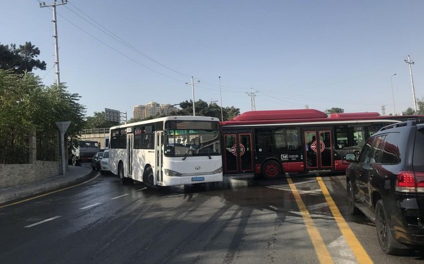 Ötən il Bakıda avtobusların iştirakı ilə baş verən qəzalarda 10 nəfər ölüb