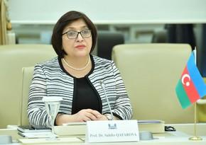 Sahibə Qafarova: Azərbaycanın dinc sakinlərinə qarşı törədilmiş bu vəhşətin acısı unudulmayacaq