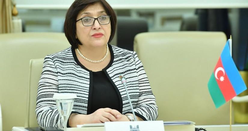"""Sahibə Qafarova: """"Azərbaycan-Türkiyə-Pakistan parlament sədrlərinin görüşü tarixi hadisədir"""""""