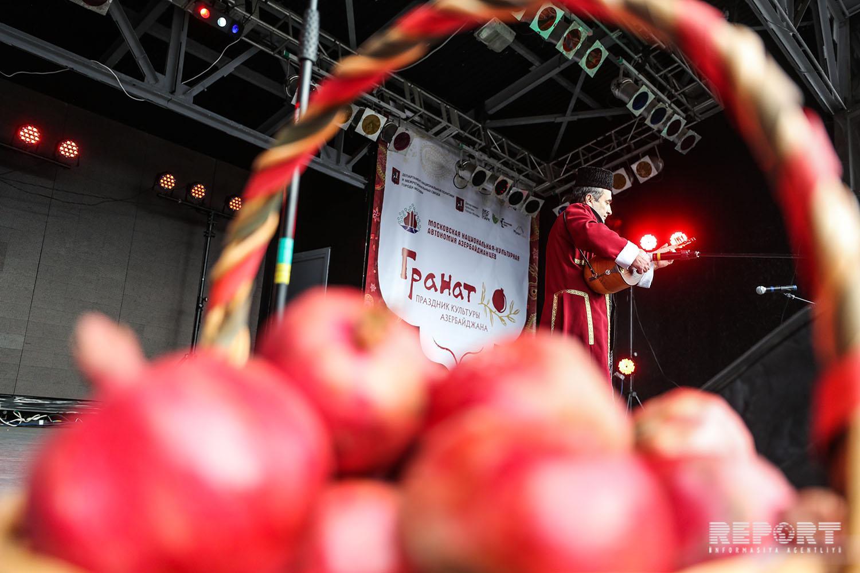 Azerbaijani pomegranate holiday celebrated in Moscow - PHOTO