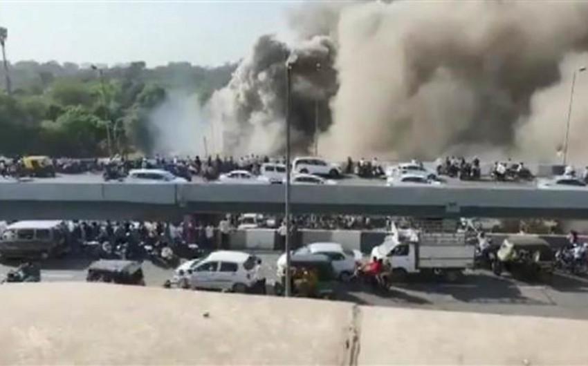 Hindistanda təlim mərkəzində yanğın olub, 15 nəfər ölüb