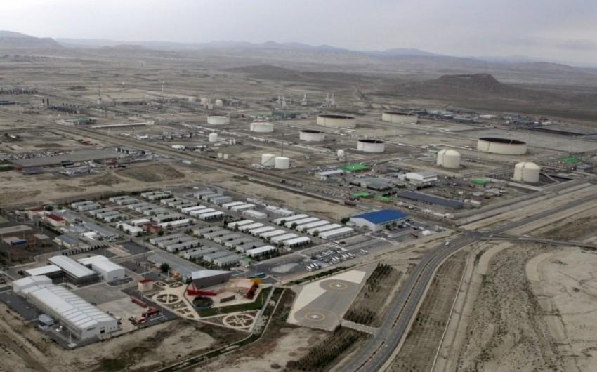 Из Сангачальского терминала экспортировано свыше 141 млн баррелей нефти и конденсата