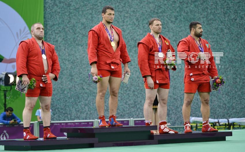 Azərbaycan samboçuları Avropa Oyunlarında çıxışlarını 4 gümüş medalla başa vurublar