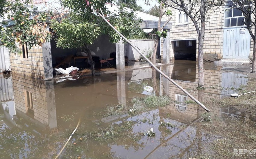 Balakəndə güclü yağış bir sıra fəsadlar törədib - FOTO - VİDEO - YENİLƏNİB