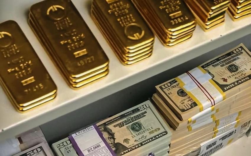Rusiyanın beynəlxalq maliyyə ehtiyatları azalır