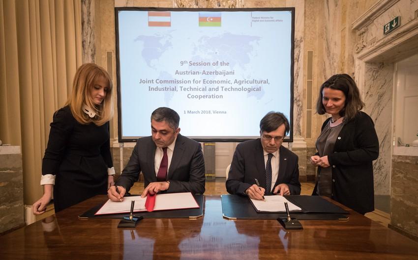 Vyanada Azərbaycan ilə Avstriya arasında Qarışıq Komissiyanın 9-cu iclası keçirilib