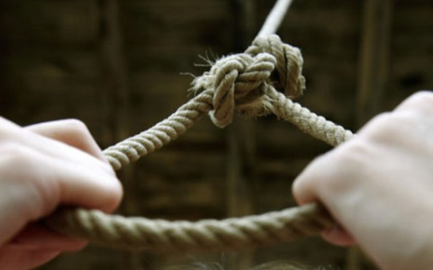 Goranboyda intihar hadisəsi olub