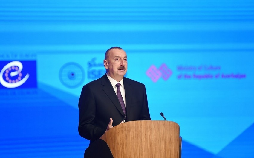 Prezident: Azərbaycanda daim dini tolerantlıq hökm sürüb