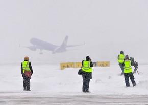 Moskva hava limanlarında 40-dan çox uçuş ertələnib