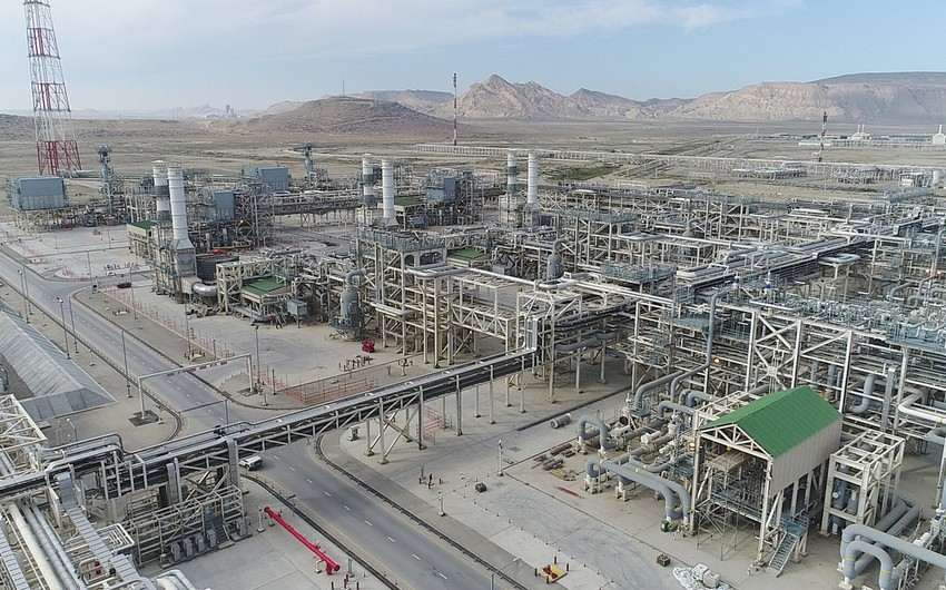 Shah Deniz gas exports through Sangachal terminal soar