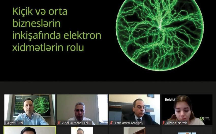 Azərişıq və Deloitte Azerbaijan sahibkarlar üçün vebinar təşkil edib