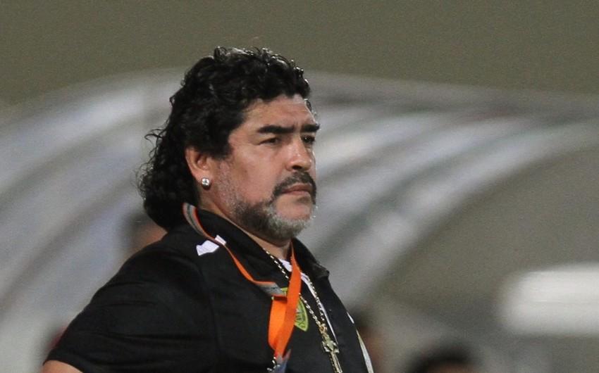 KİV: Maradona xəstəxanaya yerləşdirilib