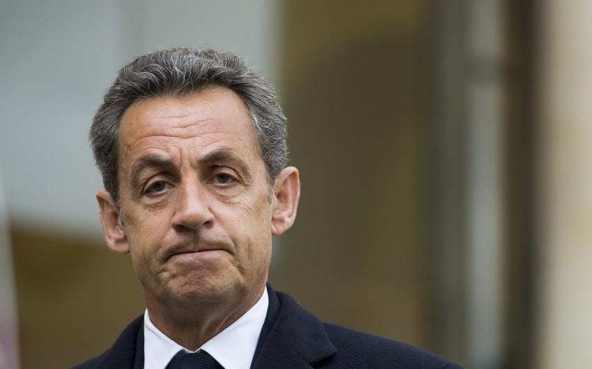 Fransanın keçmiş prezidenti Nikola Sarkozi saxlanılıb