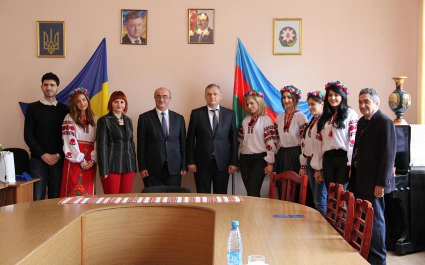 BSU və Çerkas Milli Universiteti arasında əməkdaşlıq müqaviləsi imzalanıb