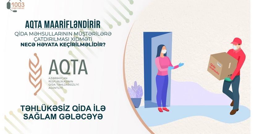 Qida məhsullarının müştərilərə çatdırılması xidmətinecə olmalıdır?