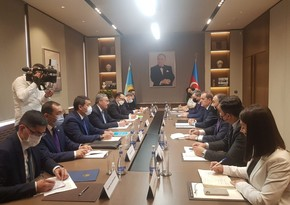 Началась встреча глав МИД Азербайджана и Казахстана