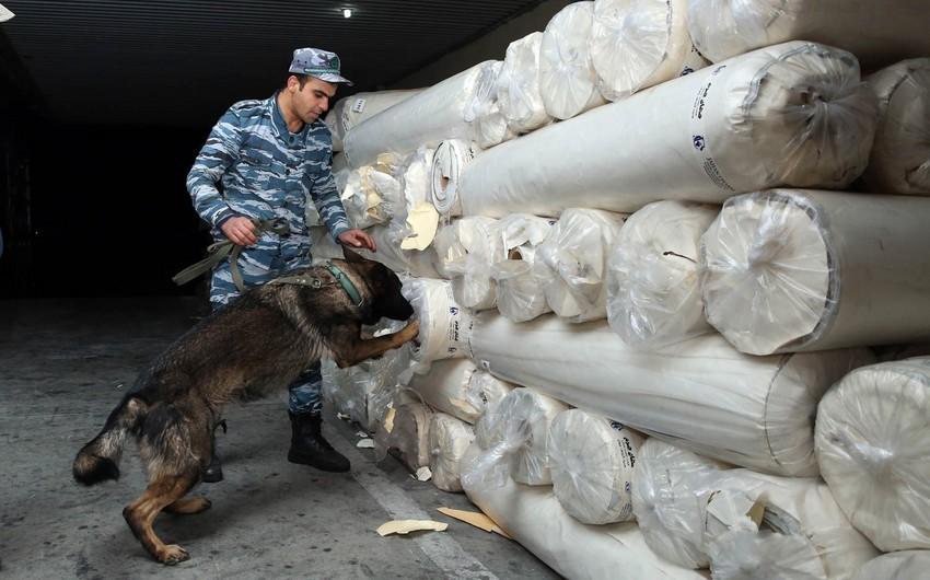İrandan Azərbaycan ərazisi ilə Ukraynaya aparılan heroin müsadirə edilib