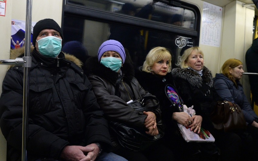 Rusiyanın regionlarında qrip epidemiyası elan olunub