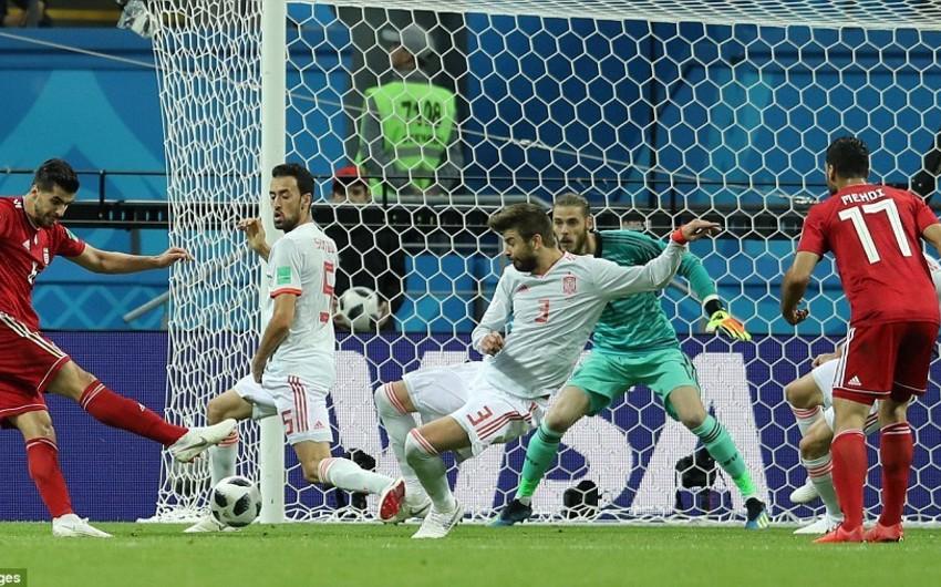Сборная Испании с минимальным счётом обыграла Иран в матче ЧМ-2018