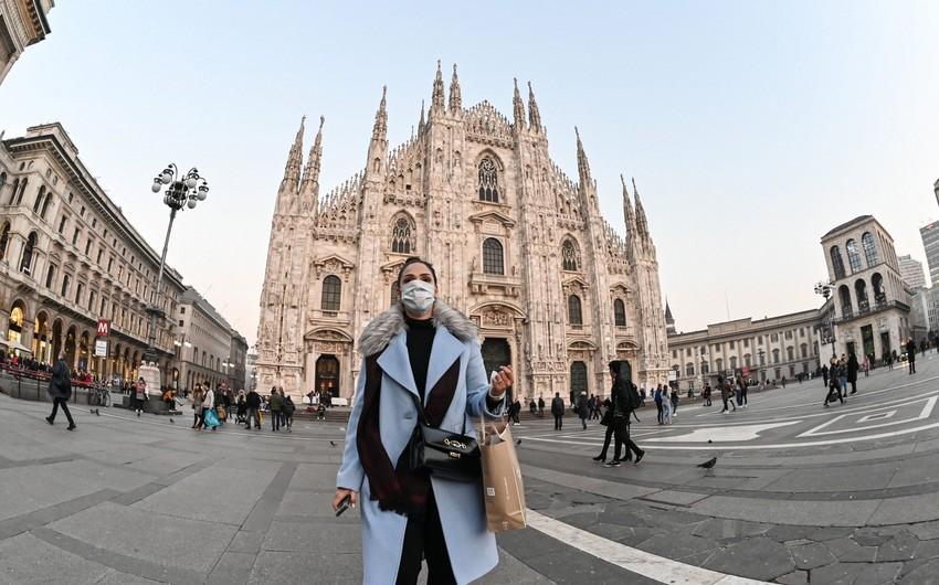 İtaliyada koronavirusa yoluxma və ölüm azalır
