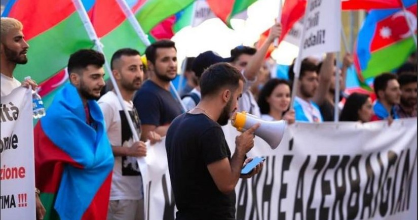 İsraildə Azərbaycana dəstək aksiyası keçirildi