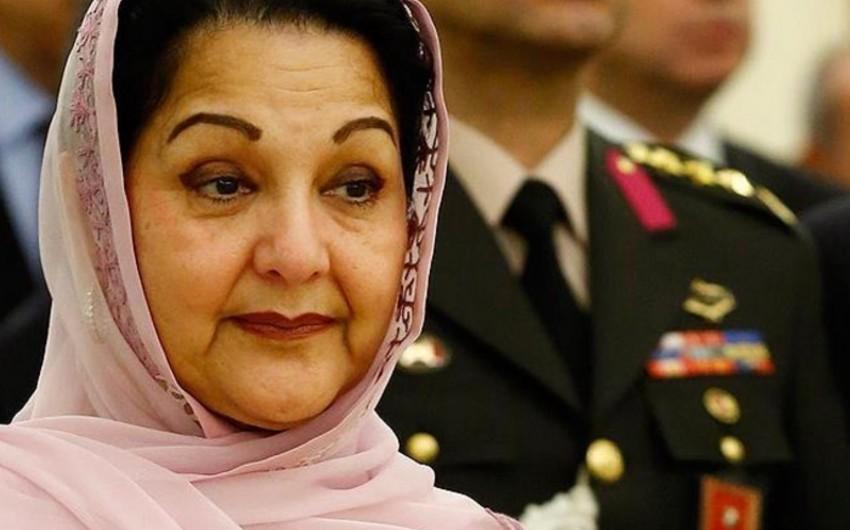 Pakistanın keçmiş baş nazirinin xanımı vəfat edib