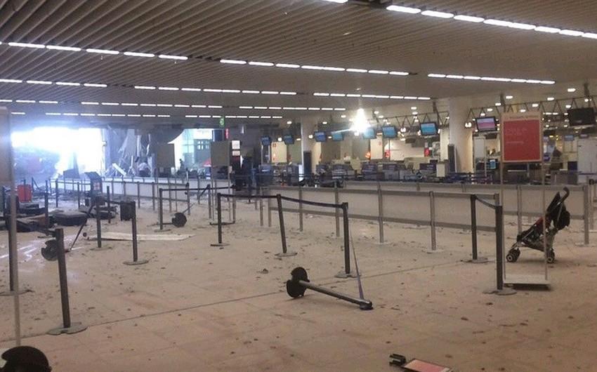 Brüsseldə terror aktları nəticəsində ölənlərin sayı 34 nəfərə çatıb