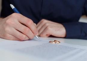Bu il14778 nikah və 5423 boşanma halı qeydə alınıb