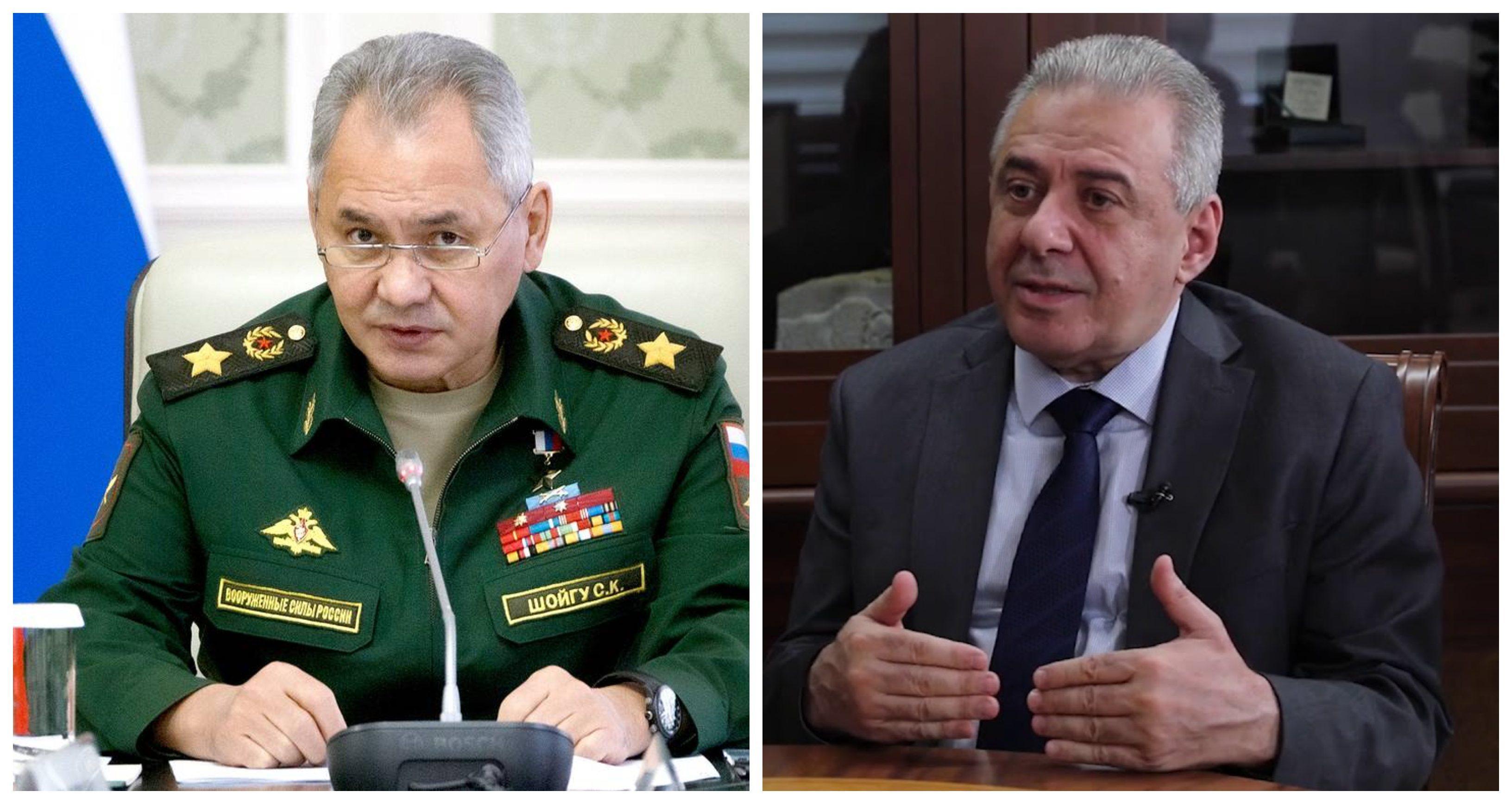 Sergey Şoyqu və Vaqarşak Arutyunyan