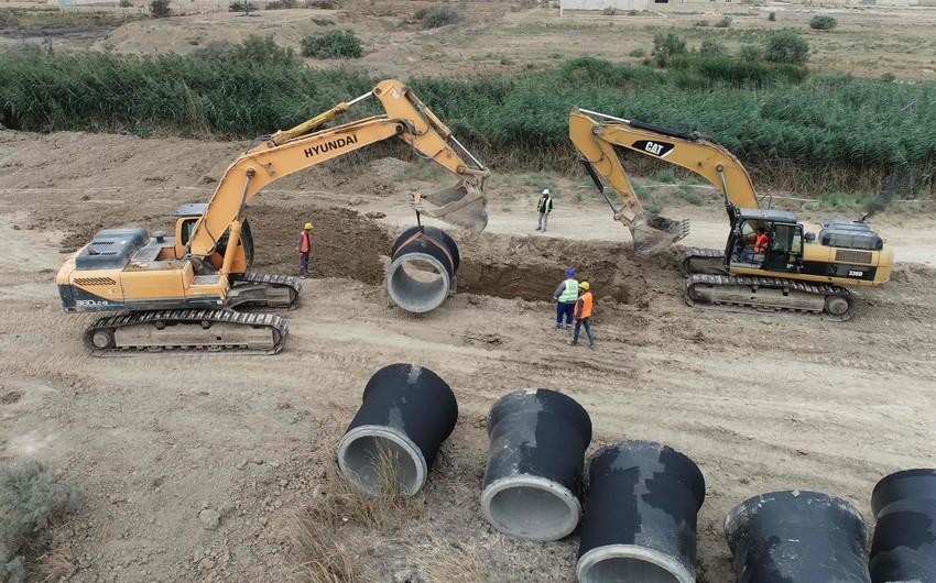 Azərsu Ələt Azad İqtisadi Zonasında infrastruktur yaradır